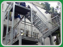 Steelcom Engineering Fire Escape